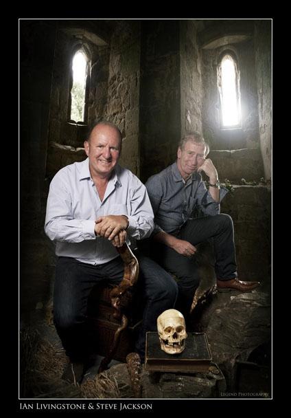 Ian Livingstone and Steve Jackson