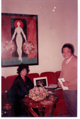 With Leonor Fini