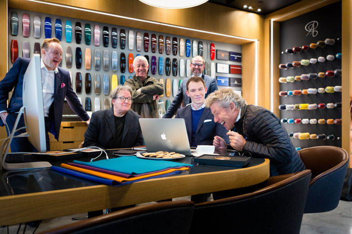 Who front man, Roger Daltrey, visits Rolls-Royce Motor Cars at Goodwood. Photo by Christopher Ison