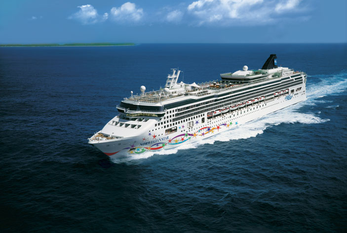 The Norwegian Star is among the rising number of cruise ships.