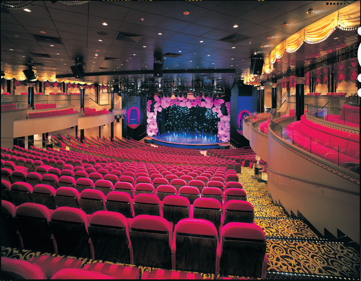 The Stardust Theatre onboard the Norwegian Star.