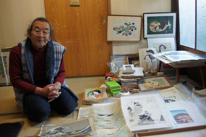 ukiyo-e, Ichimura Mamoru