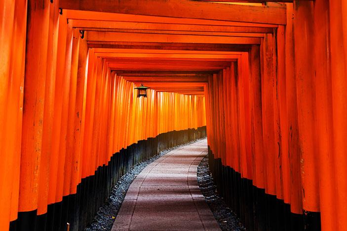 Fushimi Inari, Kyoto , Japan
