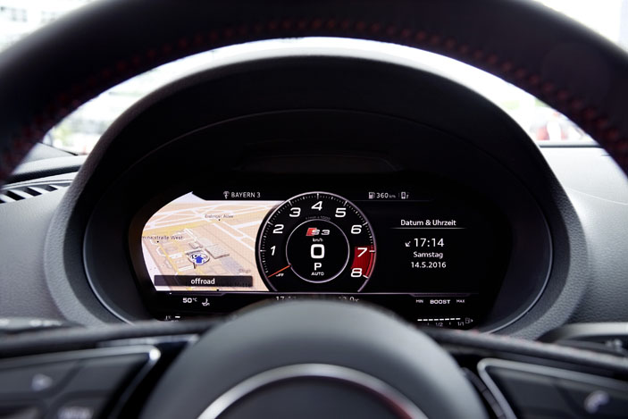 Audi S3 Sedan instrument