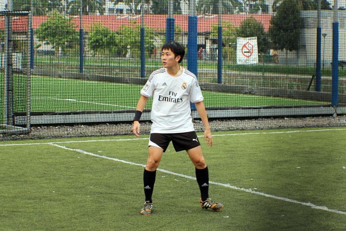 Andrew Gan of Strangers Soccer