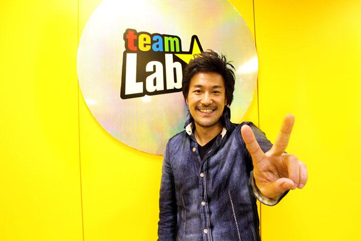 Toshiyuki Inoko, founder of teamLab