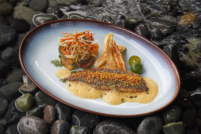 braised sea bream thai red curry ce la vi