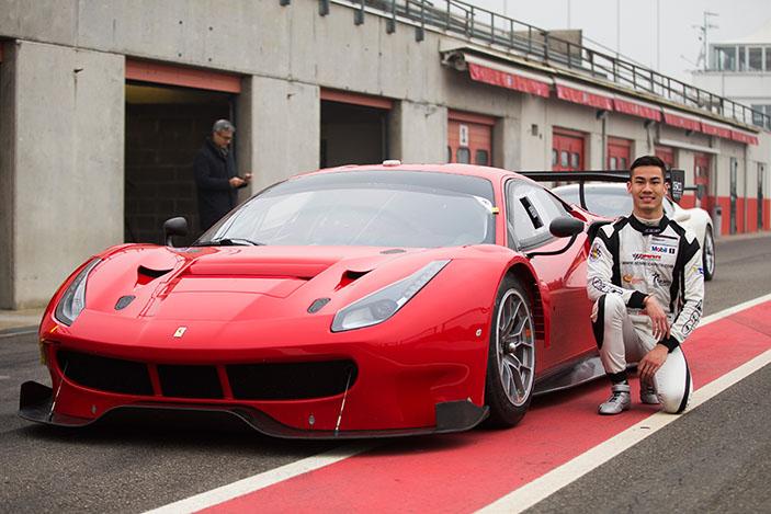 Sean Hudspeth, Ferrari