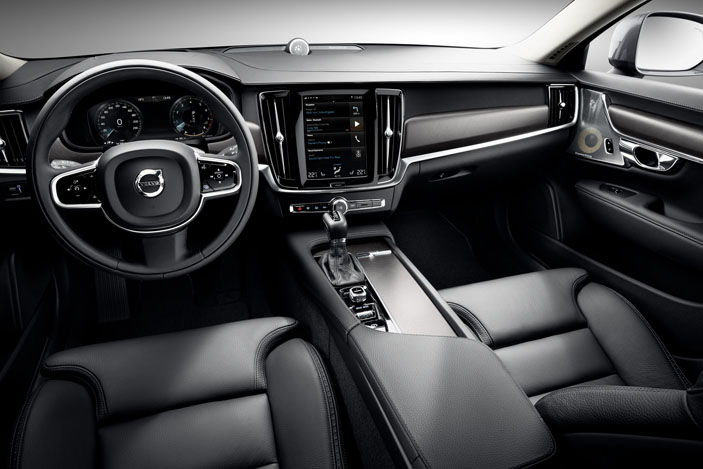 driver-cockpit, Volvo V90 CC