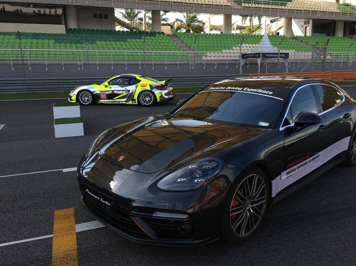 Porsche GT4 Clubcar MR, Panamera GT, Sepang