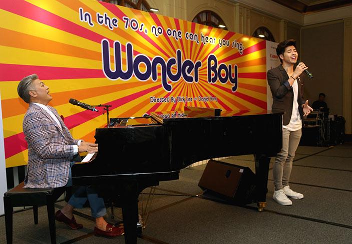 Dick Lee, Benjamin Kheng, Wonder Boy