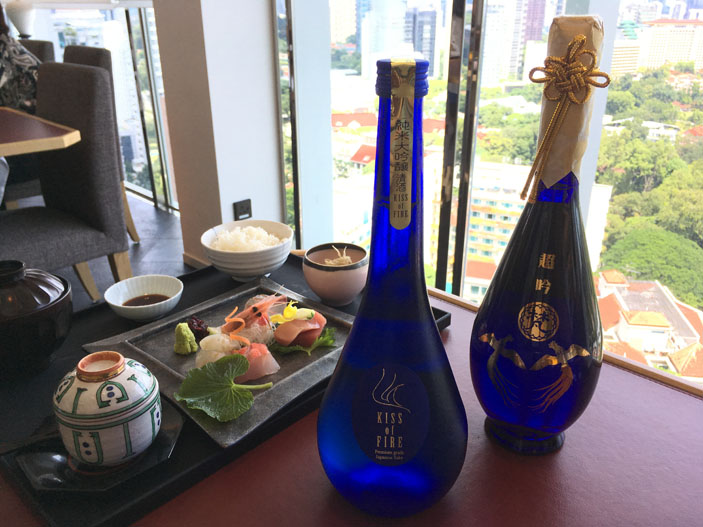 NAMI Japanese Restaurant, shangri-la Singapore, Ring of Fire, Louis Vuitton and Born Chogin.