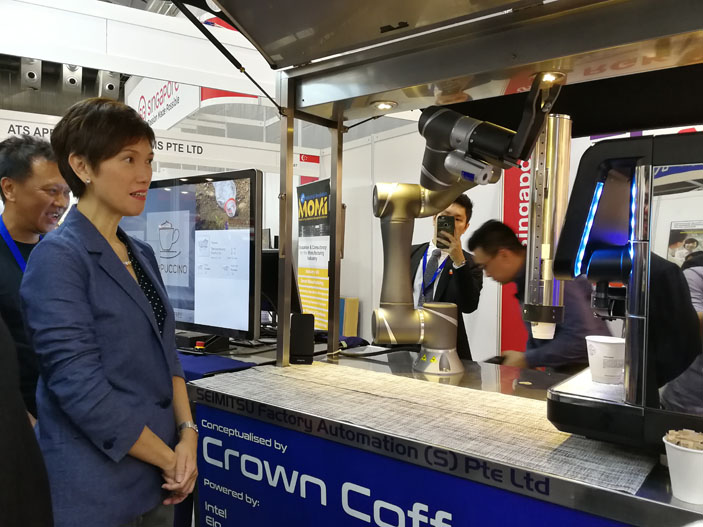 Crown Coffee Josephine Teo