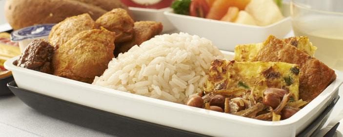 Singapore Airlines nasi lemak