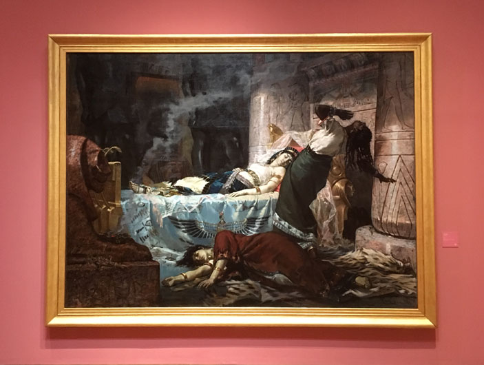 Cleopatra by Juan Luna