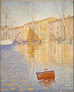 Paul Signac's La Bouee Rouge