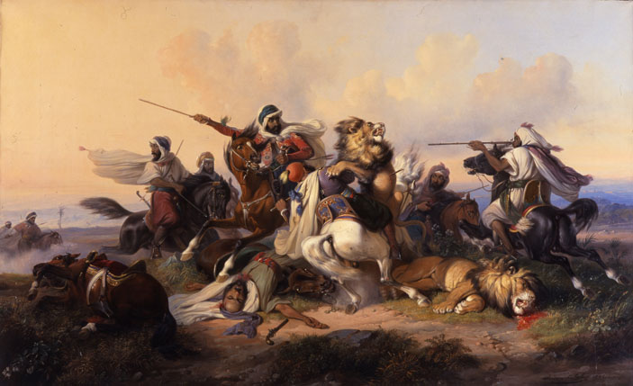 raden-saleh-lion-hunt