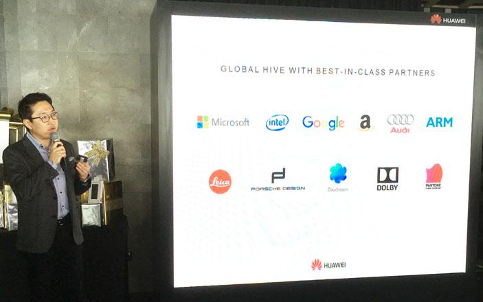 Huawei partners
