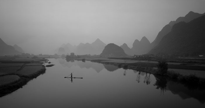 Yu Long River, Photo by Russel Wong