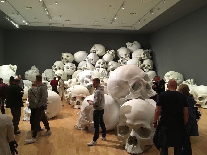 Ron Mueck NGV Triennale