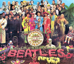 Sgt Pepper's Lonely Hearts Club Band, the Beatles