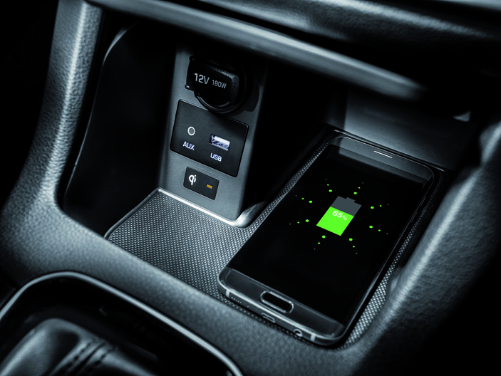 Hyundai i30 charging