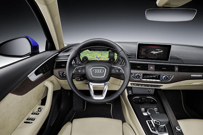 Audi A4 2.0 TFSI virtual cockpit