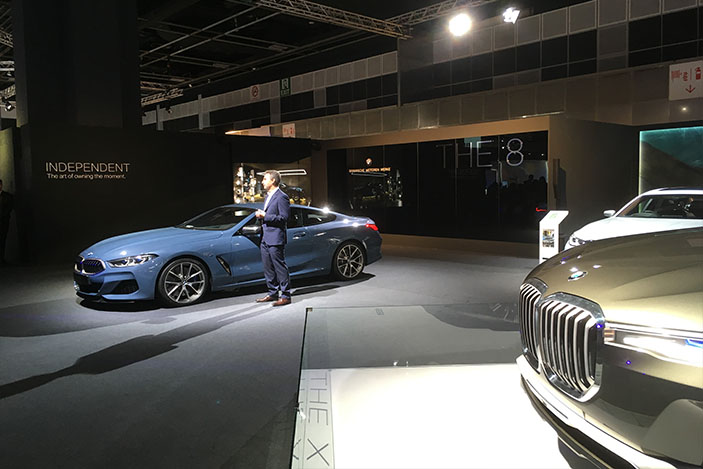 BMW Group Asia Managing Director, Christopher Wehner BMW 8 Series