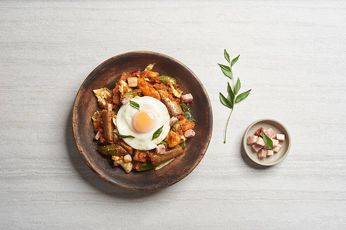 Smoked Pork Curry, New Ubin Seafood, Fullerton Bay Hotel