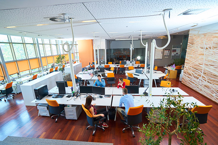 co-sharing office
