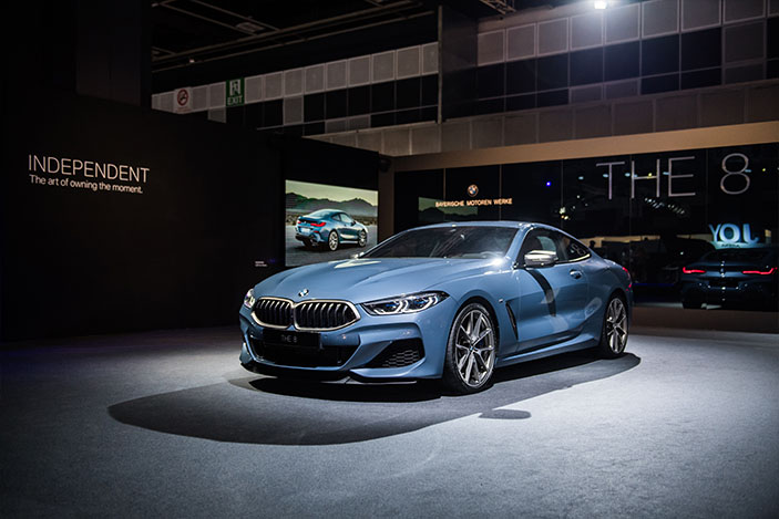 The BMW 8 Series redefines the sports car as BMW sees it.