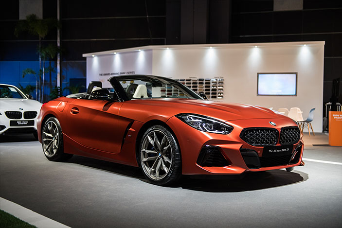 The BMW Z4 First Edition is the ideal modern roadster.