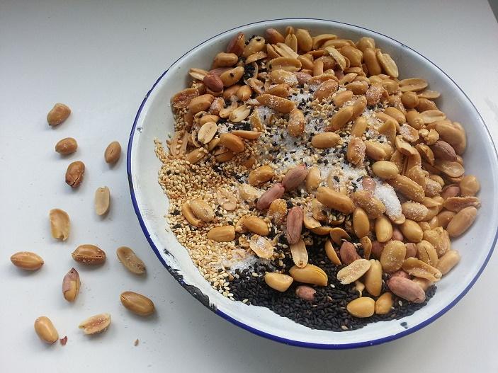 Peanut mixture