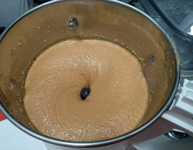 smooth peanut butter paste