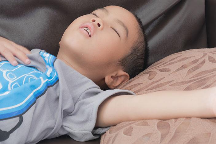 child-breathing