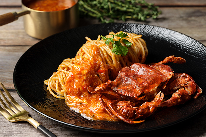 se7enth-rest Chilli crab pasta