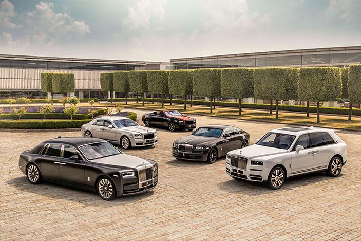 Rolls-Royce fleet