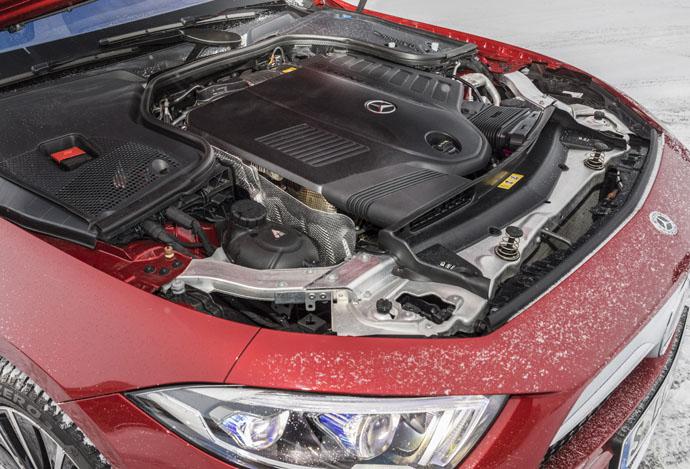 Mercedes-Benz CLS 450 4matic engine