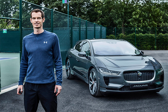 Andy Murray, Jaguar I-PACE