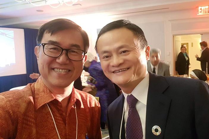Jack Sim, Jack Ma