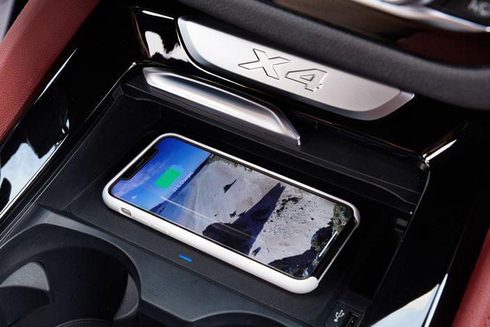 wireless charging BMW X4