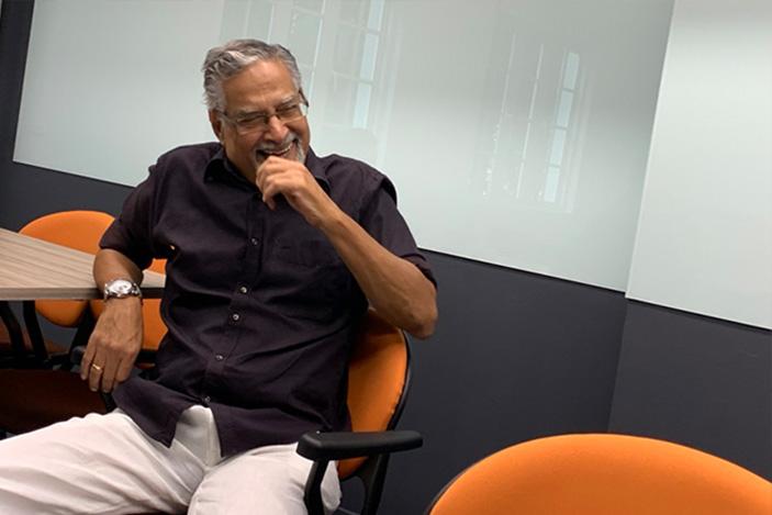 P. N. Balji Reluctant Editor