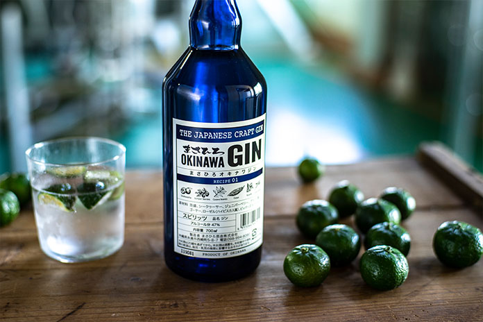 Masahiro Okinawa Gin RECIPE 01
