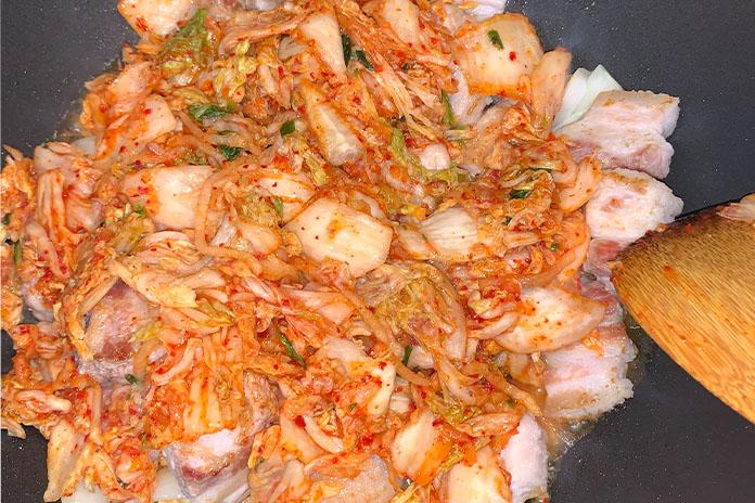 Spicy Kimchi Stew with Pork