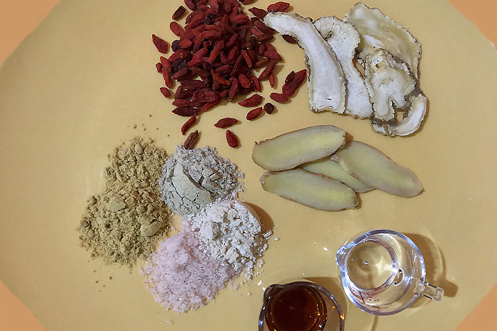 salt baked chicken ingredients