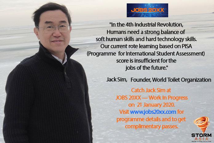 Jack Sim, Jobs 20XX