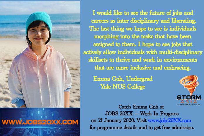 Emma Goh, Jobs 20xx