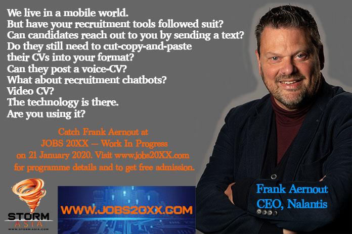 Frank Aernout, Jobs 20xx
