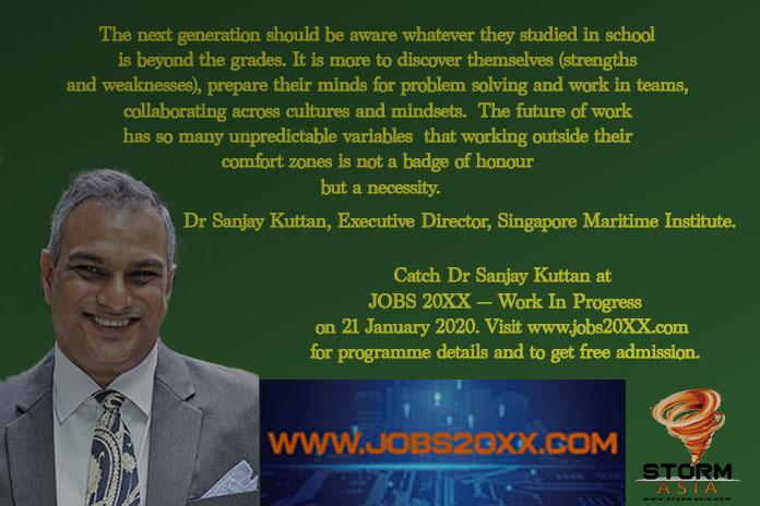 Dr Sanjay Kuttan, jobs 20xx