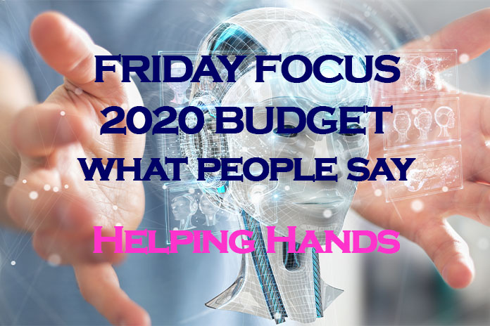 budget 2020 helping hands